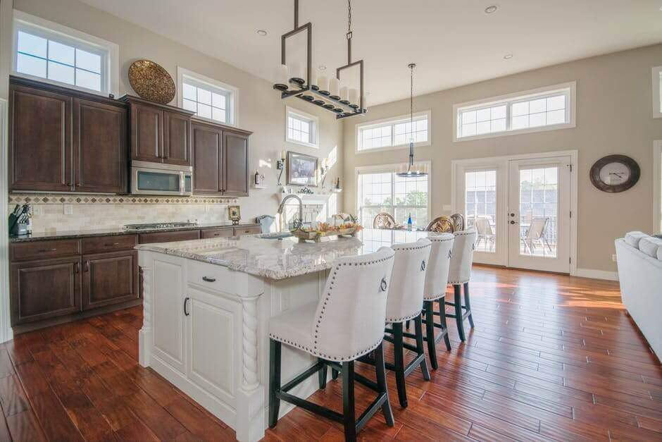 Hampton Style Kitchen Design